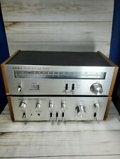 Vintage Optonica Stereo Tuner ST 12-12 And Stereo Amplifier  ST 12-12