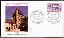 FRANCE FDC - 846 1757 2 PALAIS DES DUCS DE BOURGOGNE 19 5 1973