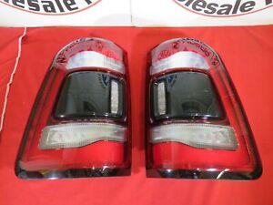 DODGE RAM 1500 DT LED Black Rear Tail Lamp set of two NEW OEM MOPAR