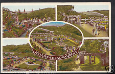 Lancashire Postcard - Views of Heysham Head Gardens   RT2003