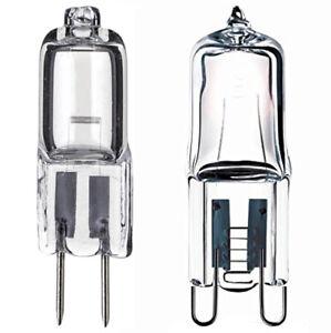 Eveready Halogen Capsule Light Bulbs 10w 16w 20w 25w 33w 40w - G4(12v) G9 (240v)