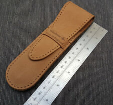 Leather Straight Razor Protective/Travel Case by Windrose 100 Veg Tan Made in UK