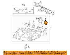 VW VOLKSWAGEN OEM 01-05 Passat Headlamp-Rear Cap 3B0941607E