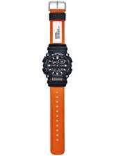 Casio G-Shock Orange Nylon Strap GA900C-1A4 Analog-Digital 2020 Brand New
