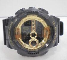 Casio G-Shock Digital Mens Black X Gold Series Watch GD100GB - Bids From $1