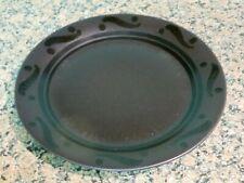 5 PFALTZGRAFF PINWHEELS DINNER PLATES BLACK