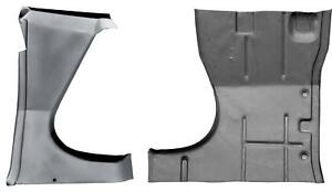 Cab Floor Front Section 71-01 Dodge Van-PAIR