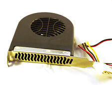 System PCI Slot Blower CPU Case DC Cooling Fan 12V 4 Pin for MAC/PC