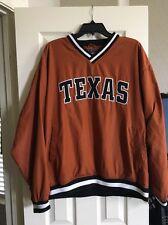 Vtg Nike Team University of Texas Longhorns Stitched Letterman Jacket Rare L