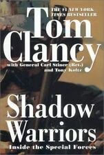 Commander: Shadow Warriors : Inside the Special Forces by Tom Clancy - NEW