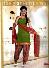 Churidar Suits Womens's Dress Material Chudidhar DESIGNER CHURIDAR SALWAR KAMEEZ