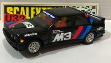 Scalextric exin C-4093 BMW M3 E30 Noir Boite Ouverte