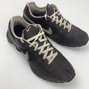 Nike Shox Deliver Brown Leather Mens Shoes Size 13 (317547-207) 2010