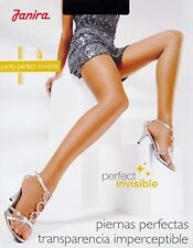 Janira Perfect Invisible 5 den Ultra-Sheer Tights Pantyhose - X-Large - Grey