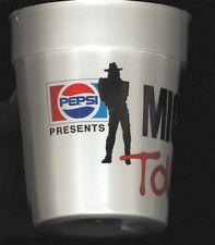 PEPSI-1988-MICHAEL JACKSON TOUR CUP-PLASTIC-JACKSON FIVE-FROM 1ST CONCERT IN KC