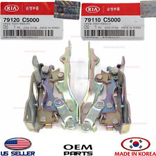 HOOD HINGE RIGHT & LEFT SET 2PC! GENUINE KIA SORENTO 16-18 79110C5000 79120C5000