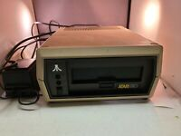 """Vintage Atari 810 5 1/4"""" Floppy Disk Drive With Power Supply Powers Up Untested"""