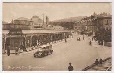 Derbyshire postcard - Buxton, The Quadrant