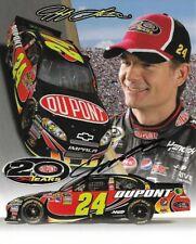 2012 Jeff Gordon Dupont Pepsi Max NASCAR Signed Auto 8x10 Post Hero Card