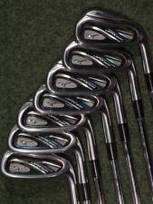 Second hand Mizuno JPX 800 golf clubs iron set regular flex 4-PW (x7 clubs)