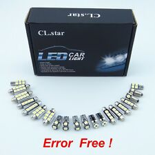 17pcs white for Mercedes Benz CLA C117 CLA220 CLA260 LED Bulb Interior Light