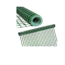 4 ft. x 100 ft. Green Snow/Safety Barrier Fence Heavy-Duty Construction Fencing