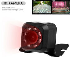 Auto Car Backup Rear View Reverse Parking 8 LED Infrared Night Vision HD Camera