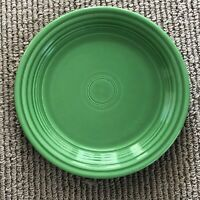HOMER LAUGHLIN Fiesta Vintage MEDIUM GREEN Luncheon Plate 9-1/2""