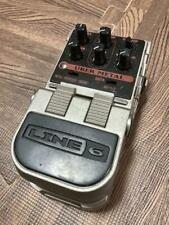 LINE 6 Uber metal Guitar Effects Pedal from Japan Used