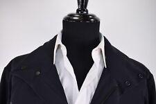 "Belstaff ""Trailmaster Evo"" NWT Waterproof Jacket w/ Packaway Hood Sz 50 in Black"