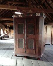 bemalter Schrank Bauernkasten Barock Süddeutschland um 1800