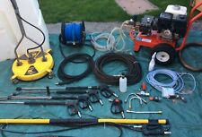 More details for pressure washer jetwash honda gx 390 driveway patio cleaning package 21ltrs