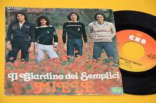 "GIARDINO DEI SEMPLICI 7"" 45 (NO LP ) MIELE ORIG ITALY 1977 EX"
