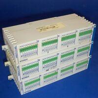 INDRAMAT RECO INTERBUS 24VDC INPUT MODULE RME12.2-32-DC024 LOT OF 3 *PZF*