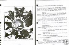 Jacobs R-755 Radial Engine Maintenance Manual 1950's rare historic archive