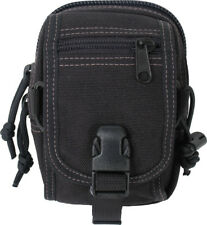 Maxpedition M-1 Waistpack Black 0307B Two pocket compact pack that can be worn d
