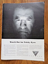 1942 Better Vision Institute Ad Watch out for Tricky Eyes