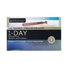 Monistat 1 Day Treatment Prefilled App. Vaginal Antifungal Tioconazole 6.5%