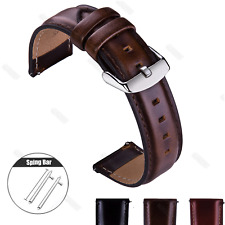 Watch Strap For Fossil Watch Retro Geniune Leather Watch Band Wrist 18 20 22mm