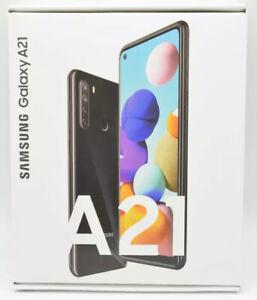 Samsung Galaxy A21 4G 32GB Black (Unlocked) BRAND NEW SEALED A21