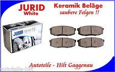 JURID White Keramik Bremsbeläge hinten TOYOTA Land Cruiser Pick Up 2007-