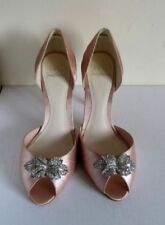 Jenny Packham High Heel (3-4.5 in.) Satin Bridal Shoes