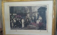 FRAME ARTIST VERY RARE THO'S THOS AGNEW & SON ART GALLRIES PICCADILLY 1880s