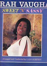 SARAH VAUGHANsweet n sassyHOLLAND 1963  EX-  LP  (LP2568)