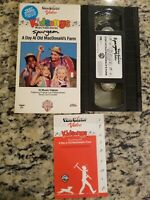 Kidsongs VHS Tape A Day at Old MacDonald's Farm Video 1985 W/ SONG CARD TESTED
