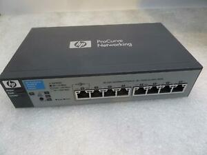 HP ProCurve 1810G-8 J9449A 8 Port Networking Switch}