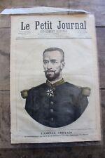 Petit journal dibujada Nº41 1891 el Almirante Gervais Grandes Maniobras de L'Es