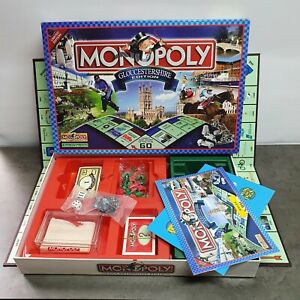 Monopoly Gloucestershire Edition 2003 Hasbro Board Game Brand New Sealed Content