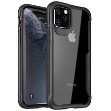 Housse Coque iPhone 11 pro max XS XR 8 7 6S Ultra Hybrid AIRBAG Bumper Renforcé