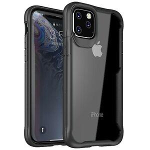 Housse Coque iPhone 11 pro max XS XR 8 7 6S Ultra Hybrid AIRBAG Bumper Renforcé
